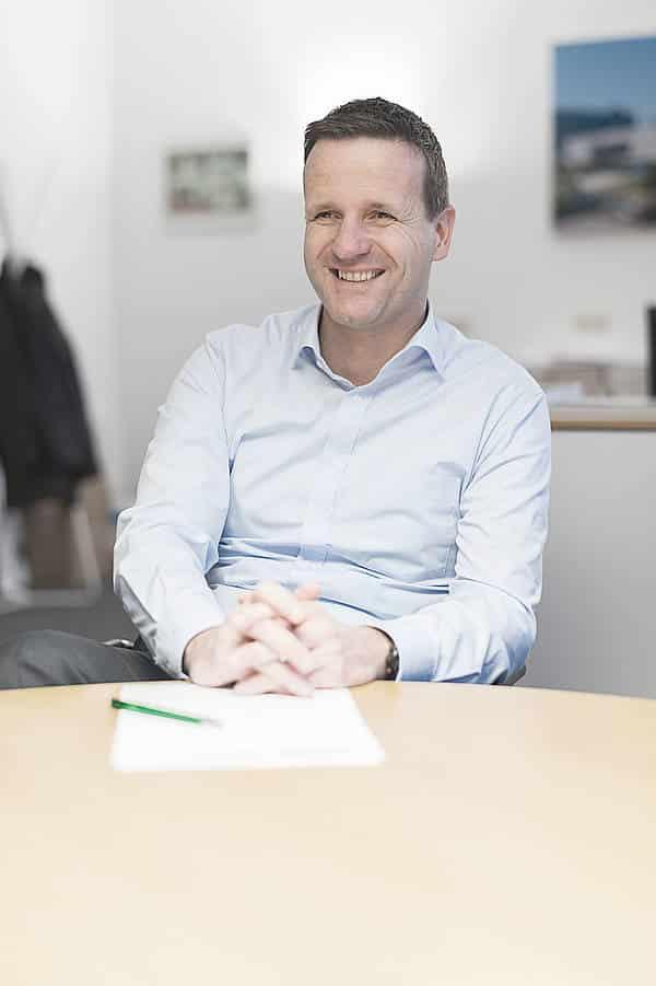 Geschäftsführer Dr. Bernd Trompeter